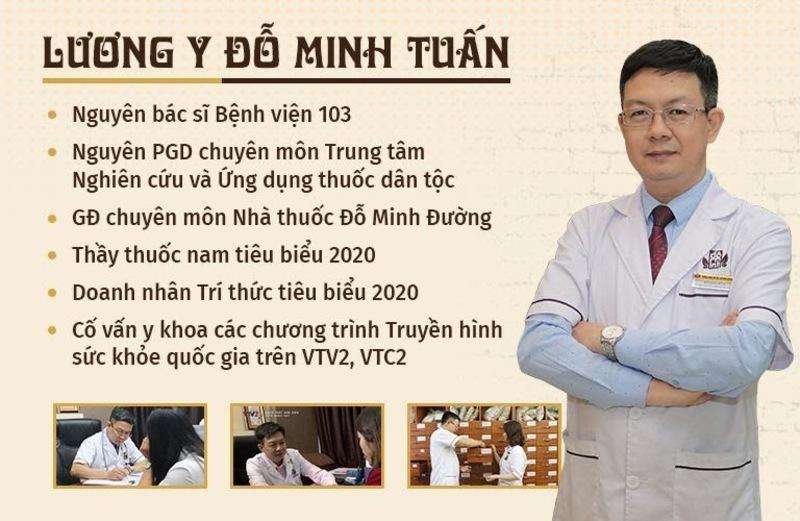 Lương y Đỗ Minh Tuấn - người trực tiếp điều trị sỏi bàng quang cho chú Bình