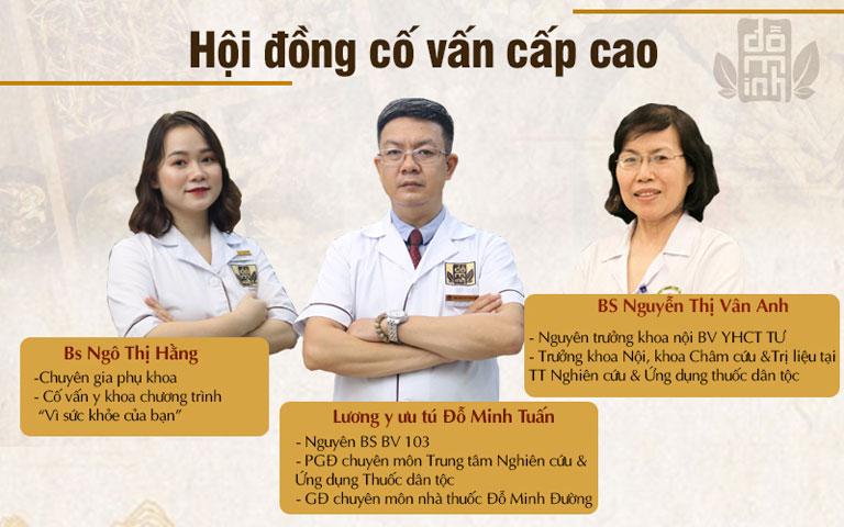 Hội đồng cố vấn nghiên cứu bài thuốc Phụ Khang Đỗ Minh