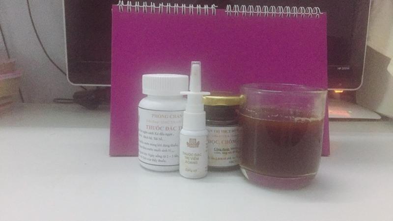 Thảo Thương rất ưng ý với dạng thức hiện đại của bài thuốc Viêm xoang Đỗ Minh Đường