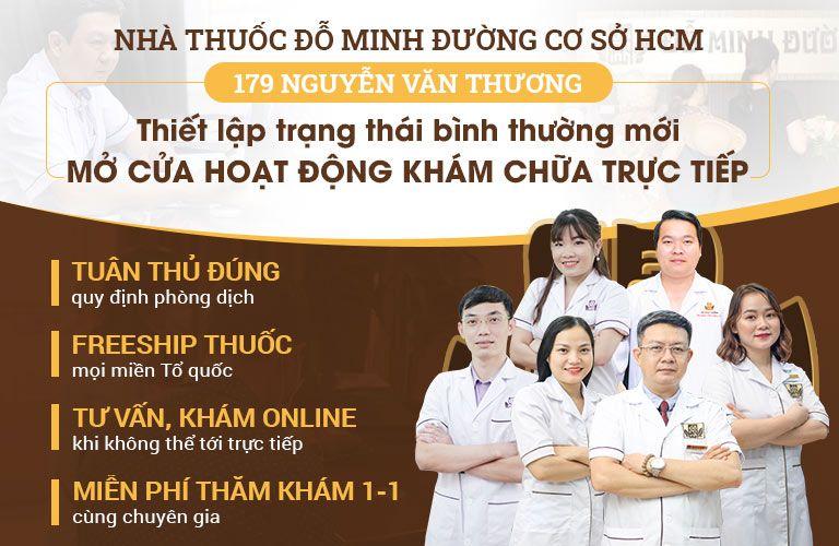 Nhà thuốc Đỗ Minh Đường thiết lập trạng thái bình thường mới, mở cửa thăm khám trở lại
